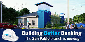 San Pablo branch is moving