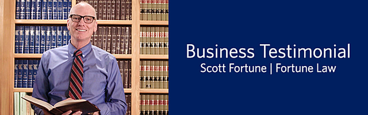 Scott Fortune Business Testimonial