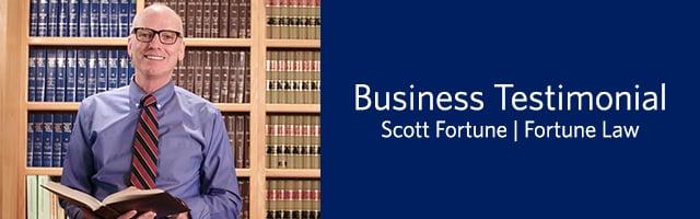 Scott Fortune Business Testimonial
