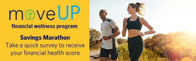 Receive a free financial health score