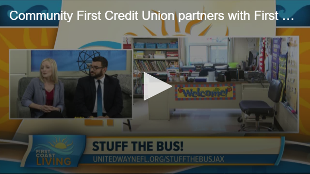 First Coast Living Segment for Stuff the Bus