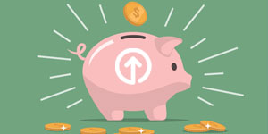 Piggy Bank Move Up
